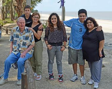 Clem, Santiago, Andrea, Victoria, Sebastian and Guillianna