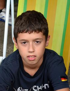 Andrea's son Santiago