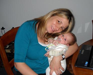Carla with Valentin