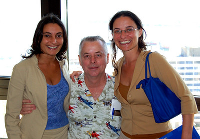 Gaby & Roxana with Mike