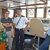 Roberto with Bridge Officer