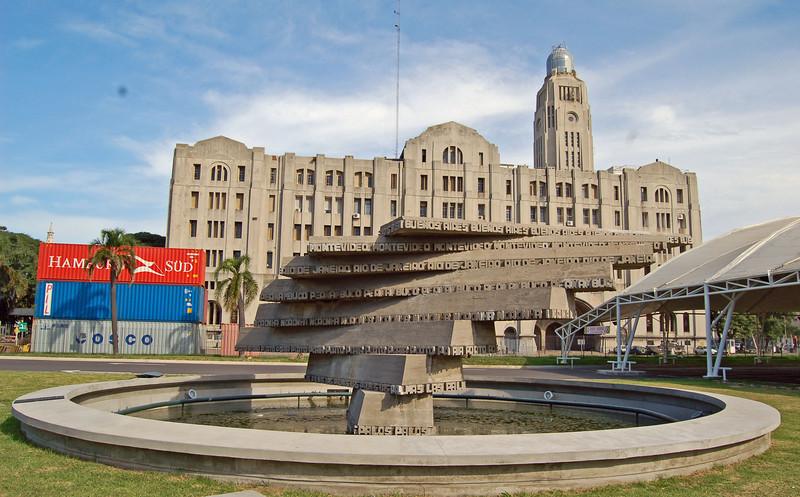 Memorial at Port of Montevideo