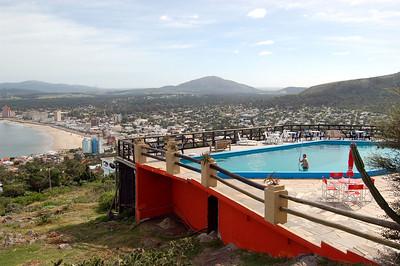 Pool above Piriapolis
