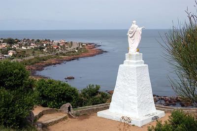 Statue of Christ on Hilltop