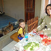 Gaby and Ignacio set for Lunch