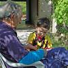 Adolfo and Ignacio Listen to Soccer Game