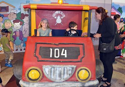 Kiddie Fire Truck