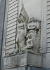 Bank of Uruguay Facade Statues