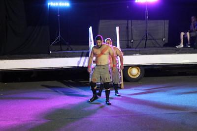 Shane Marvel & Matt Striker vs. Narciso Rex & Isaiah Rex