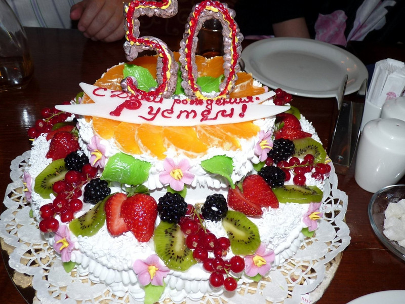 Rustem's 50th Birthday celebration at Shesh Besh. (Moscow, May, 2010)