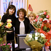 Susan's Birthday. (2006). A partial showing of flowers received at TVIN. With Vika & Natasha. Had to hire a cab to bring them home.