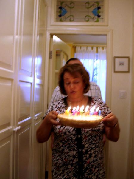 A lemon chiffon birthday pie for Rustem's birthday. (2009)