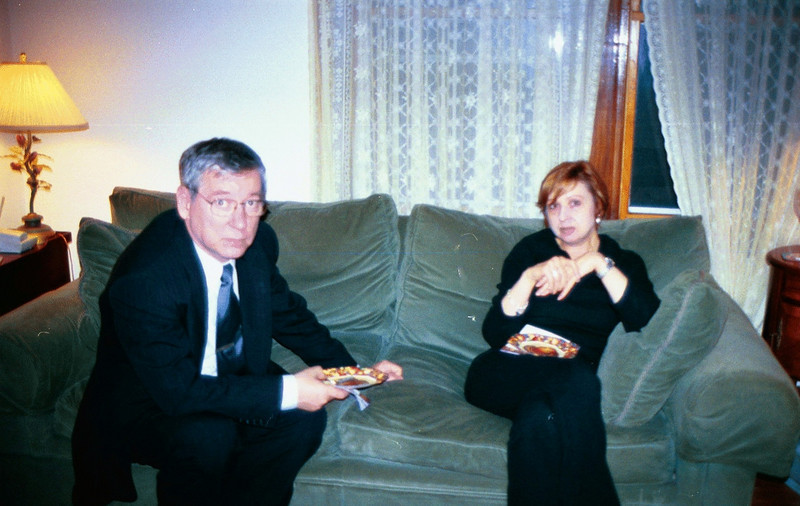 Sabirjan Kurmayev & Thelma Leemans. Thanksgiving. Watertown (1999)