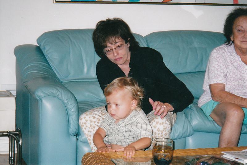 Julie, Joshua, Mom. Thanksgiving. Florida. (2004)