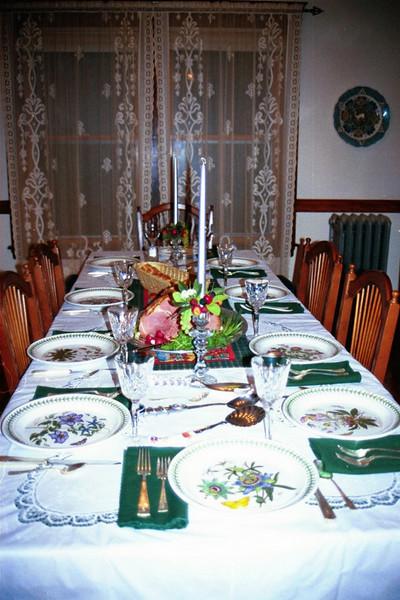 Thanksgiving Table. Watertown (1999)