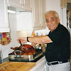 Dad carving turkey. Florida. Thanksgiving (2004)