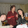 Dasha, Volodya, and his grandmother. (12.30.2007)