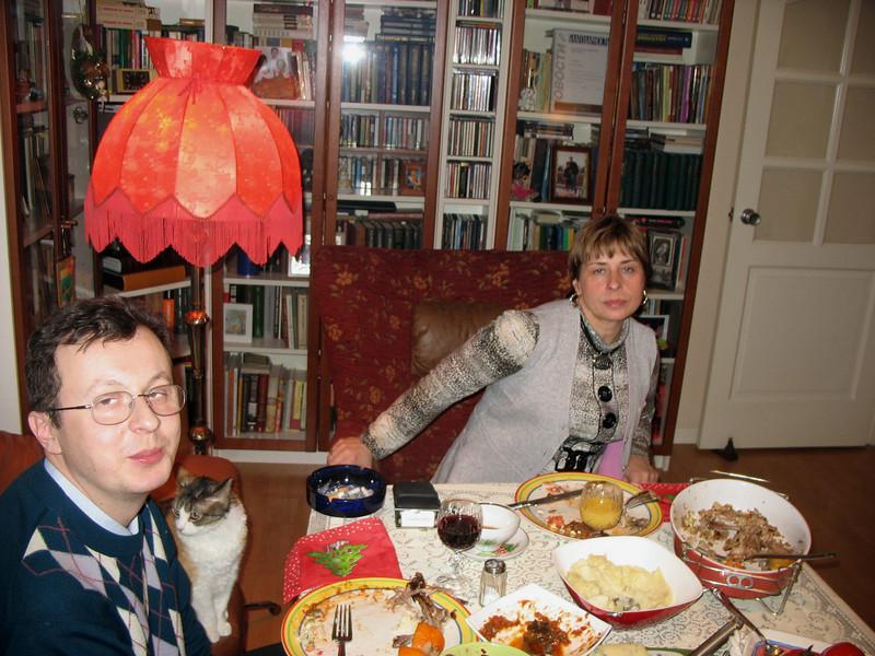 Dima Babich & Nadia Azarova, New Year's Day. (01.01.2008)