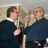 Rustem & his brother-in-law, Sasha, toasting the New Year at Dasha's. And you thought Rustem was a big guy... (12.30.2007)