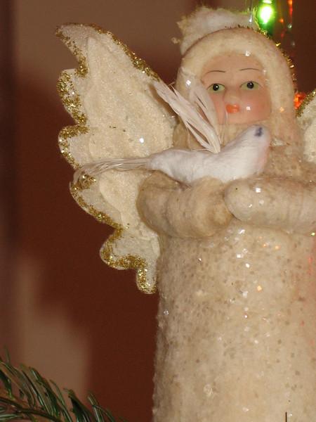 New Year angel.