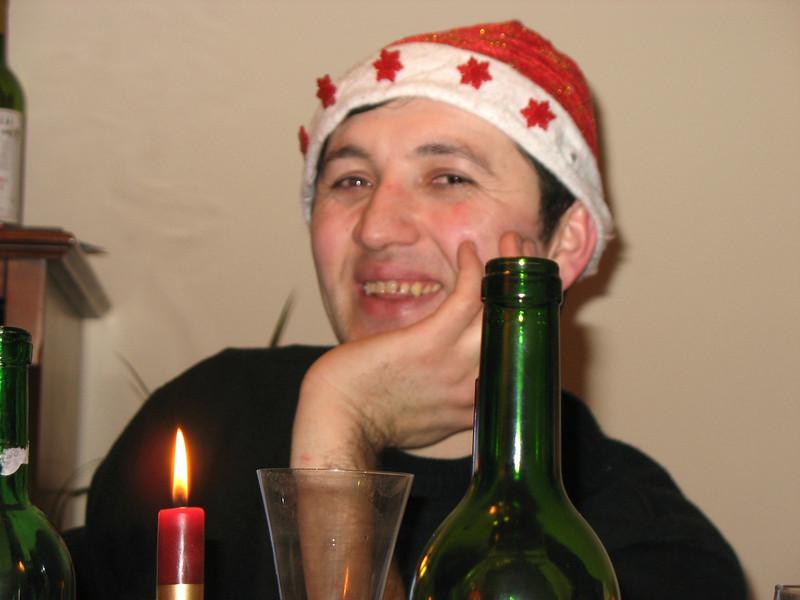 Farida's husband, Oleg.