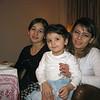 Zainab (left), Farida and her daughter, Fariza.
