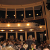 Theater crowd before the start of La Boheme. (1.5.10)