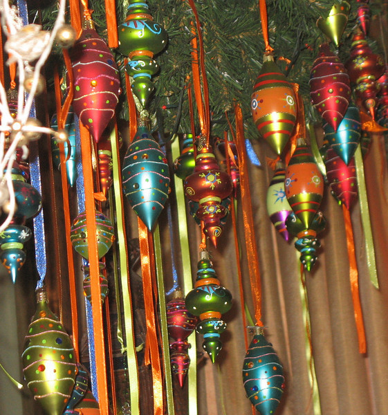 "Decorations at restaurant, ""Marrakech""."