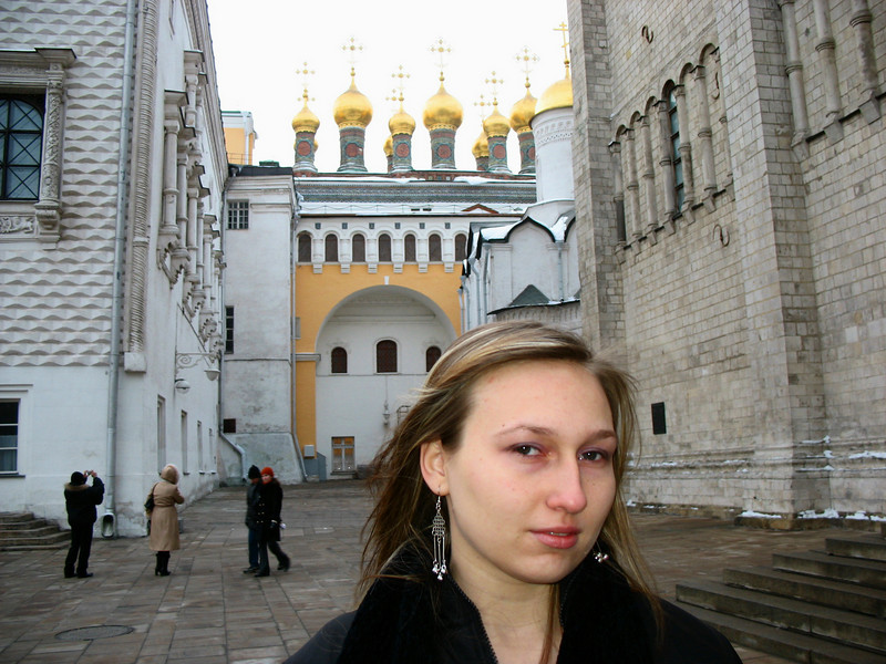 Kremlin Church Towers