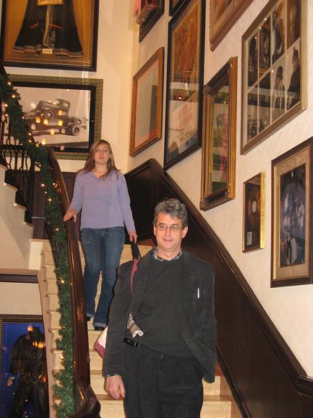 Hard Rock Staircase