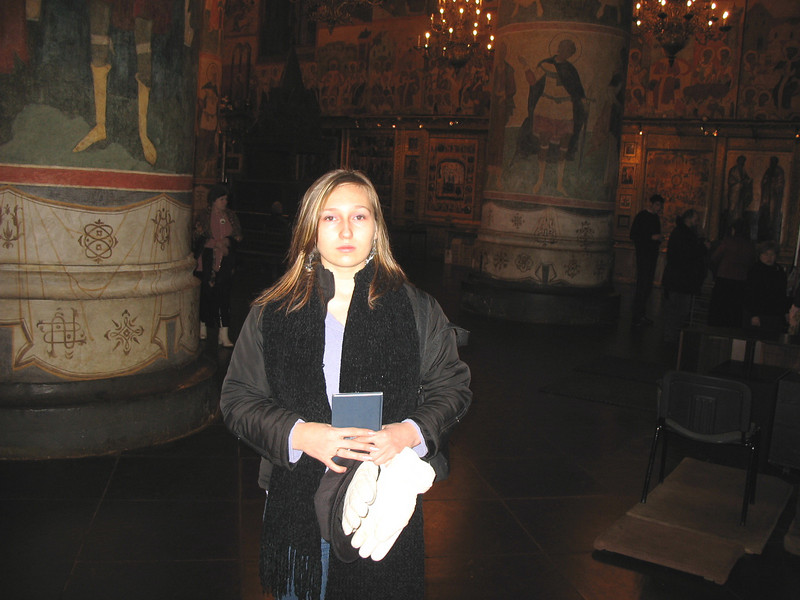 Inside Kremlin Church