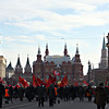 Marching towards the Kremlin.