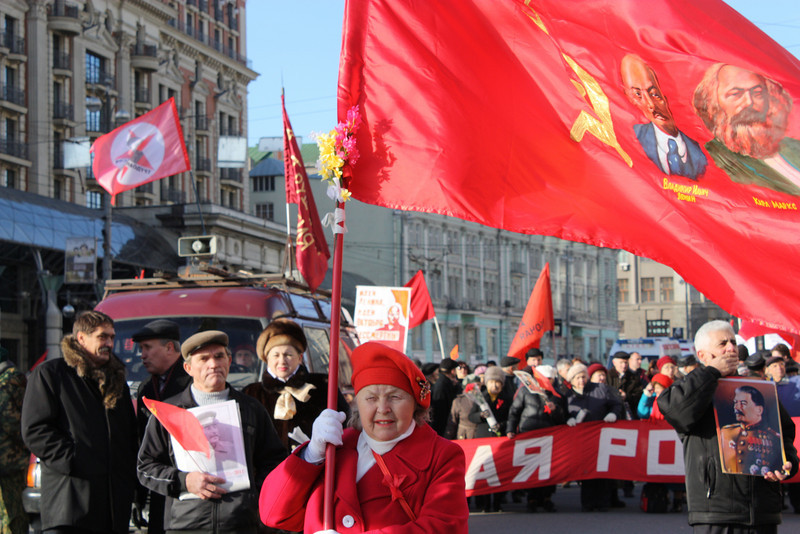 Marx & Lenin still have their supporters.