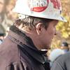 Communist hard hat.