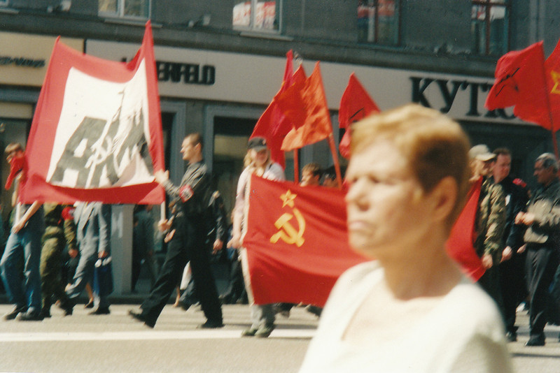 Victory Day protest (2003)