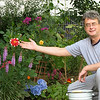 Proud of his garden (2008)