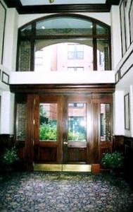 Garrison Square, Boston lobby.