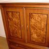 TV armoire.