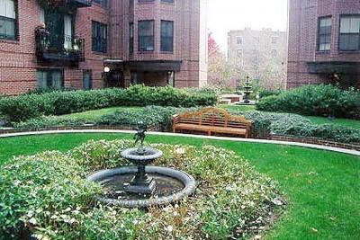 Garrison Square courtyard. Boston