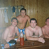 In the banya with the RT guys. Chelyabinsk (07.2007)
