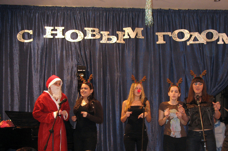 """My advanced group performing """"Rudolph"""". (12.2008)"""