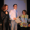 Inna Arkhipova (CEO) Genia Balaev, award winner & me, Director of Human Resources. Tvin New Year's celebration. (12. 2006)