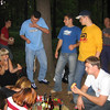 TVIN shashlik (BBQ) party.We were big on outdoor events at TVIN. (08.2005)