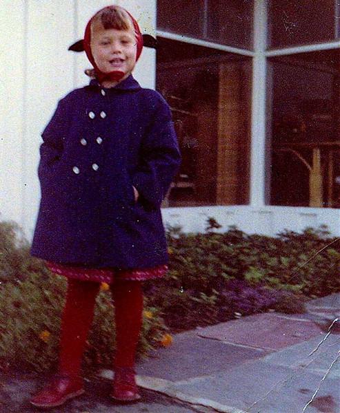 First day of kindergarten. (09.1959)