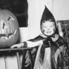 Smiling witch. Halloween (1958)