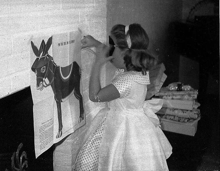 Pin the Tail on the Donkey - remember that?