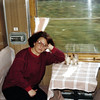 On the 38 hour train ride headed to Zlatoust  to meet my mother-in-law. (1991)