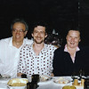 Rustem with his parents celebrating our first anniversary in Moscow. (1992)