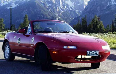 """""""KNOBzilla"""" in Grand Teton National Park 1991 Red NA 22 years and still going strong! -Joe P."""