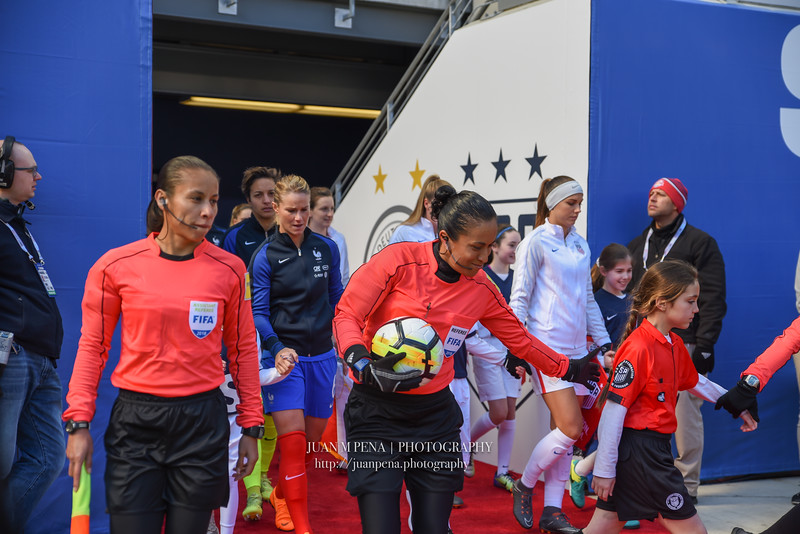 WNT v France SheBelieves Cup 2018